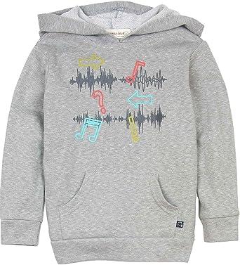 Sizes 5-12 Deux par Deux Boys/' Hooded Sweatshirt Boombox