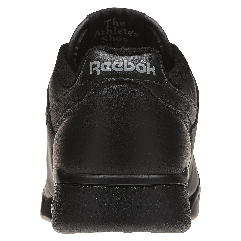 002036728e25 Reebok Men Workout Plus Vintage (Black Carbon   red) Size 9.5 US   Amazon.co.uk  Shoes   Bags