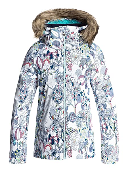 Roxy Jet Ski Girl Jk Chaqueta para Nieve, Niñas