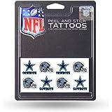 NFL Dallas Cowboys Face Tattoos, 8-piece Set