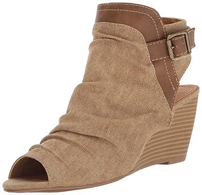 sugar Krazy Women's Wedge ... Sandal 5uk1ZuY