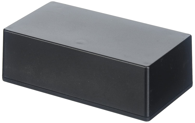 1 piece Cases 6 X 3.2 X 1.8 Black Boxes Enclosures Hammond Manufacturing 1591XXDBK