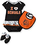 NFL Girls Newborn Cincinnati Bengals Team Love
