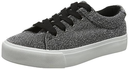 New Look Master, Zapatillas Chica, Plateado (Silver 92), 36 EU: Amazon.es: Zapatos y complementos