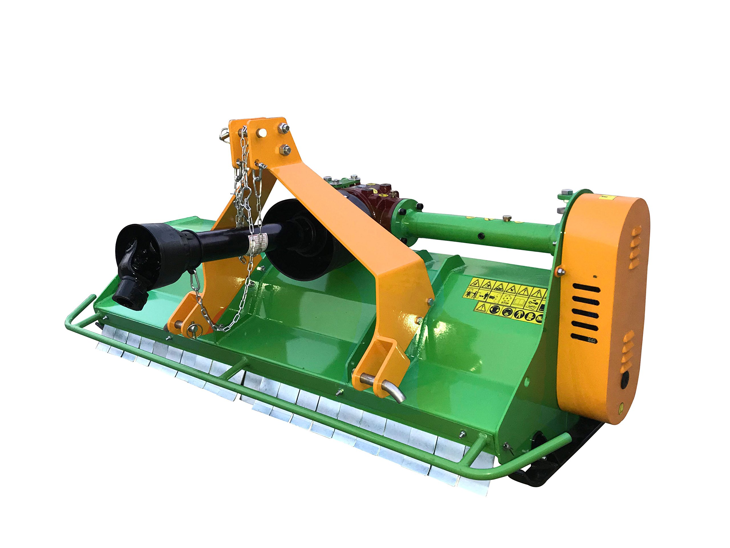 Nova Tractor 76'' Heavy Duty 3 pt Flail Mower, for Tractor 45 to 60 HP, Cat I & II