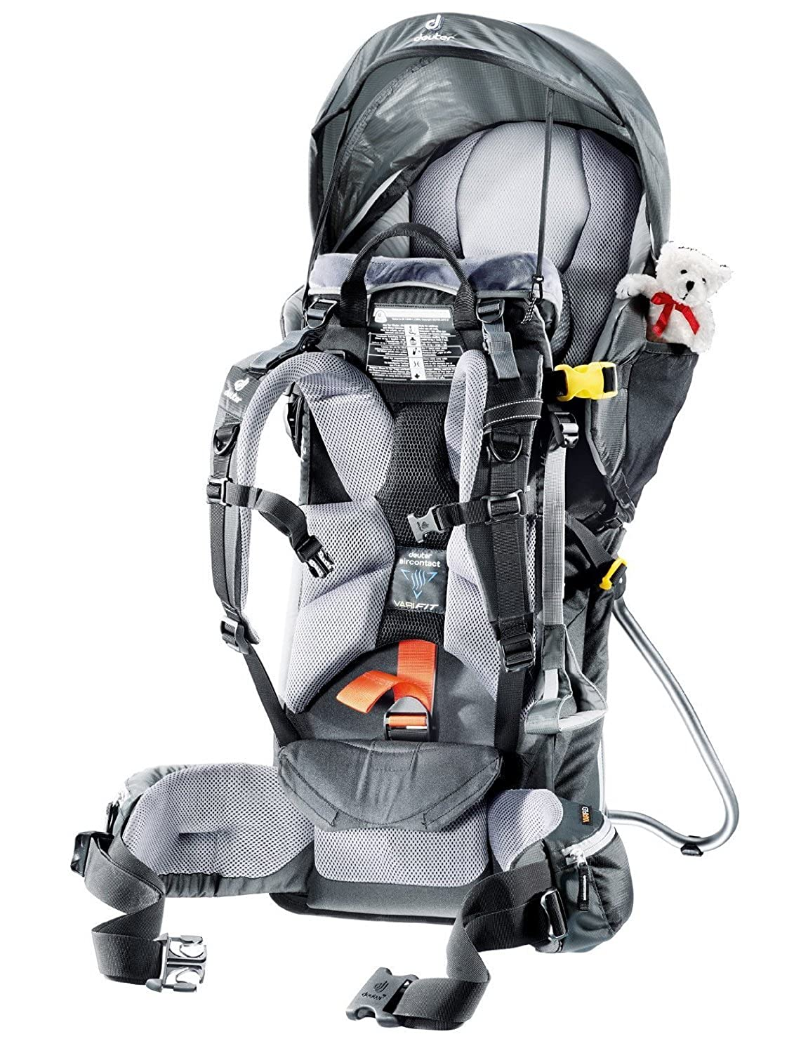 bdb66be4c64 Amazon.com   Deuter Kid Comfort III Framed Hiking Child Carrier for Infants  and Toddlers   Baby