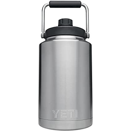 a3fc24c0000 Amazon.com: YETI 21070140001 One Gallon Rambler Jug, Stainless ...