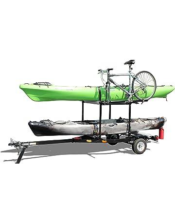 RIGHT-ON TRAILER Multi-Sport Multi-Rack Kayak Trailer by Right On |