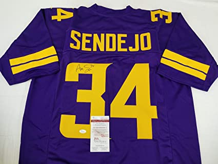 Andrew Sendejo Minnesota Vikings Signed Jersey JSA Witness Auto COA   WP960889 284b62ea7