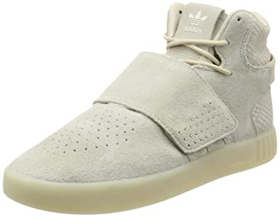 f3688f125a86a Amazon.com | adidas Originals Tubular Invader Strap Mens Suede ...
