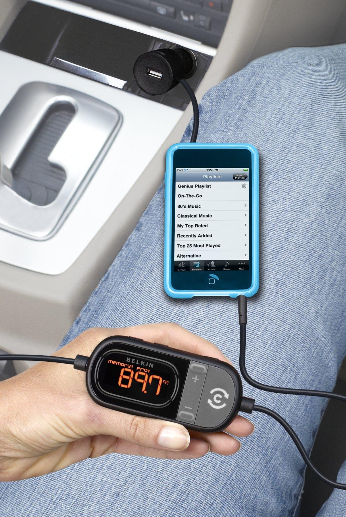 Belkin In Car Tunecast 6 Universal FM Transmitter
