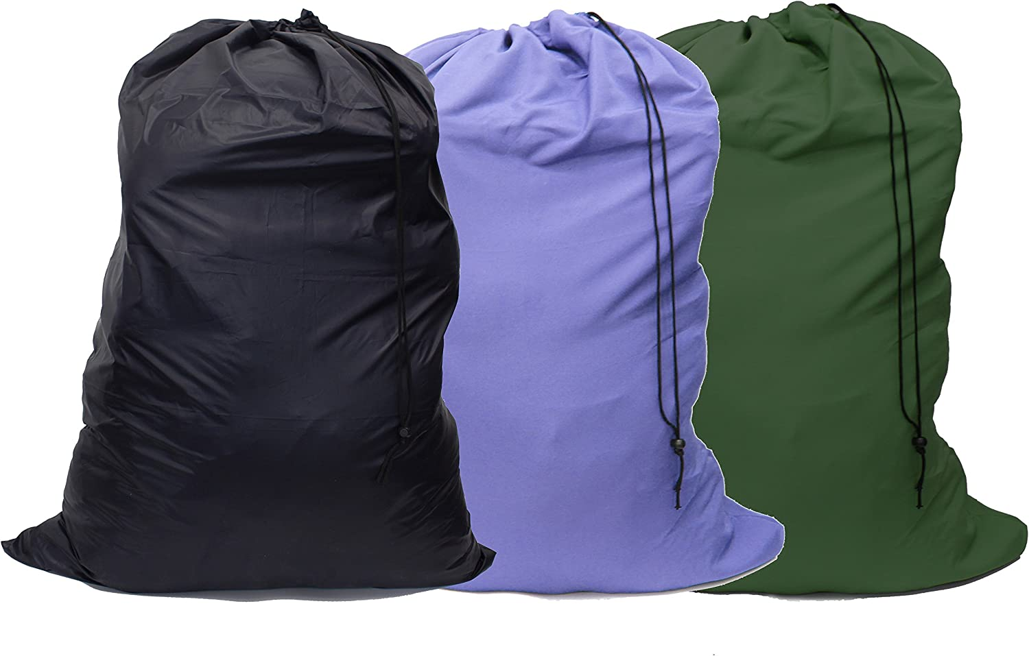 "YETHAN Extra Large Laundry Bag 3 Pack, Travel Laundry Bags with Drawstring Closure, 30""x40"", for College, Dorm and Apartment dwellers."