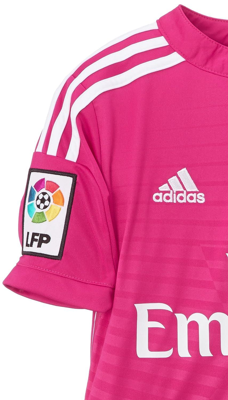 adidas - Camiseta Junior 2ª Equipación Real Madrid CF 2014-2015 M37318  Decoración navideña 83affb1f1946c