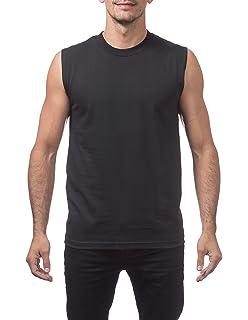 875ad2afc Pro Club Men's Heavyweight Sleeveless Muscle T-Shirt at Amazon Men's ...