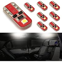 8-Pack Simdevanma Automobile LED Bulbs