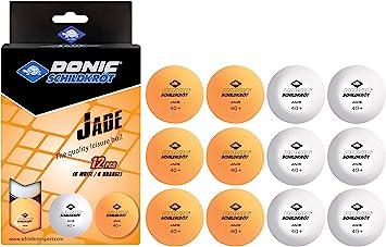 Schildkröt TT-Bälle Training 12er Pack Tischtennis Bälle Tennis Ball Training