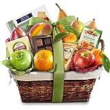 Deluxe Gourmet Fruit Basket Gift