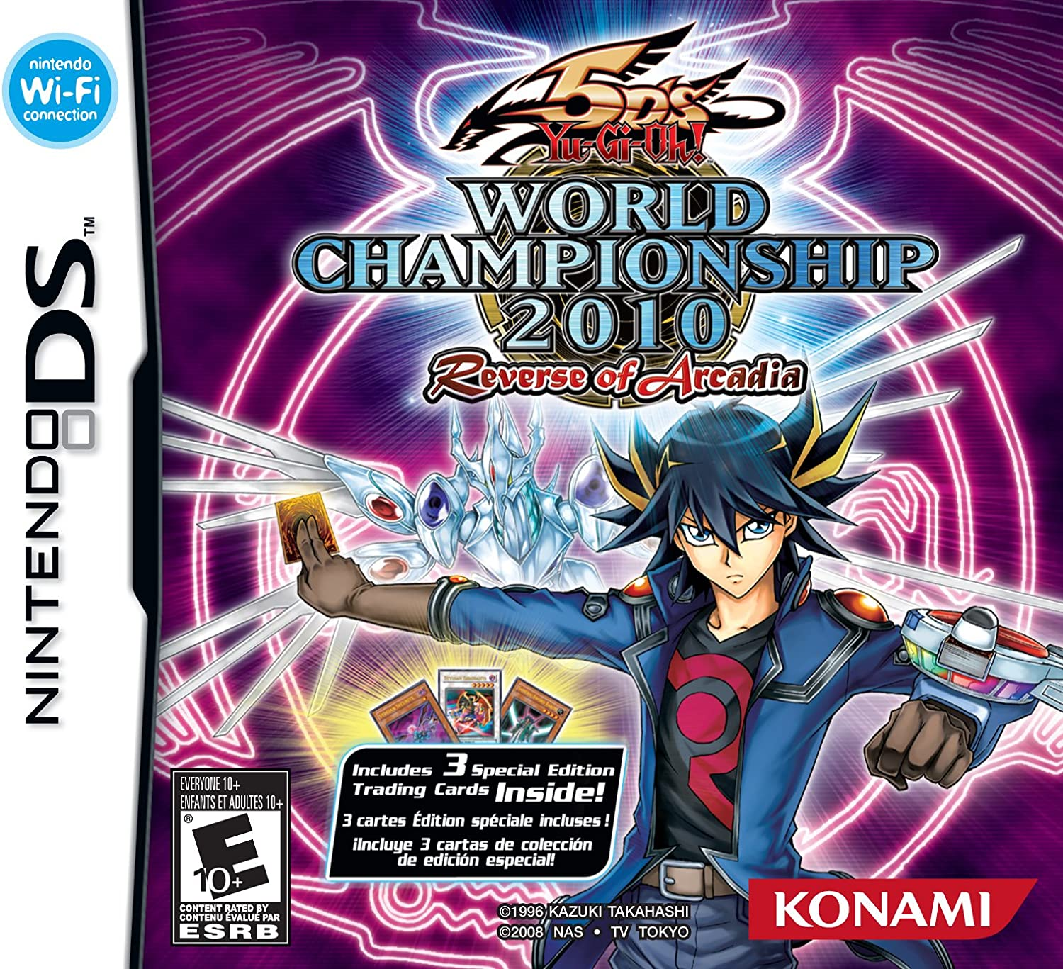 amazon com yu gi oh 5d u0027s world championship 2010 reverse of