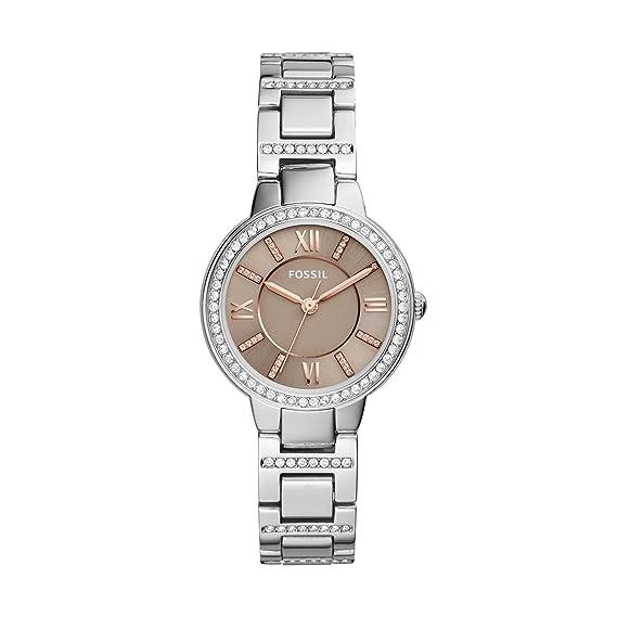 Fossil Reloj para Mujer de Cuarzo con Correa en Acero Inoxidable ES4147