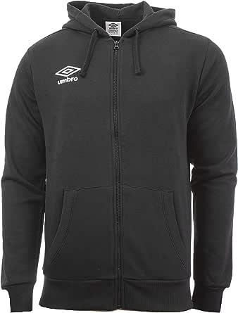 UMBRO Fleece Zip Through Small Logo Hoodie Junior Chaqueta Con Capucha Niños