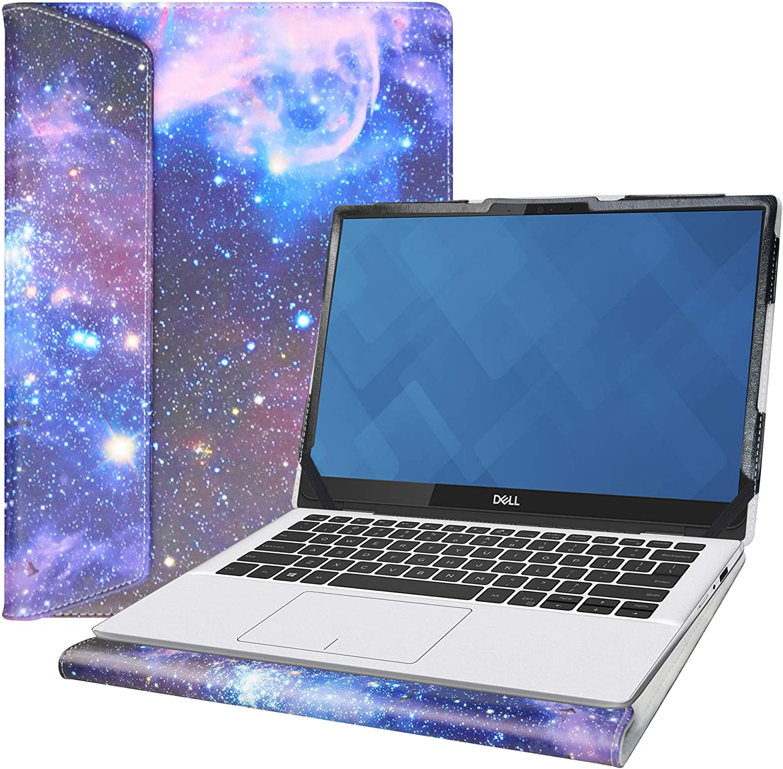 "Alapmk Protective Case for 13.3"" Dell Inspiron 13 5390 5391 7390 7391/Latitude 13 3301 5300 7300 7310/Latitude 2-in-1 5300 Chromebook Enterprise Series Laptop[Note:Not fit Latitude 13 3300],Galaxy"
