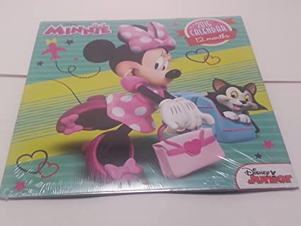 Disney Minnie Mouse 2015 Wall Calendar Bundle Coloring Book Crayons Scratch And Revel Fun Pack Earse
