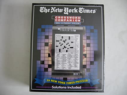 Amazon.com: The New York Times Crossword Companion Roll-A-Puzzle ...