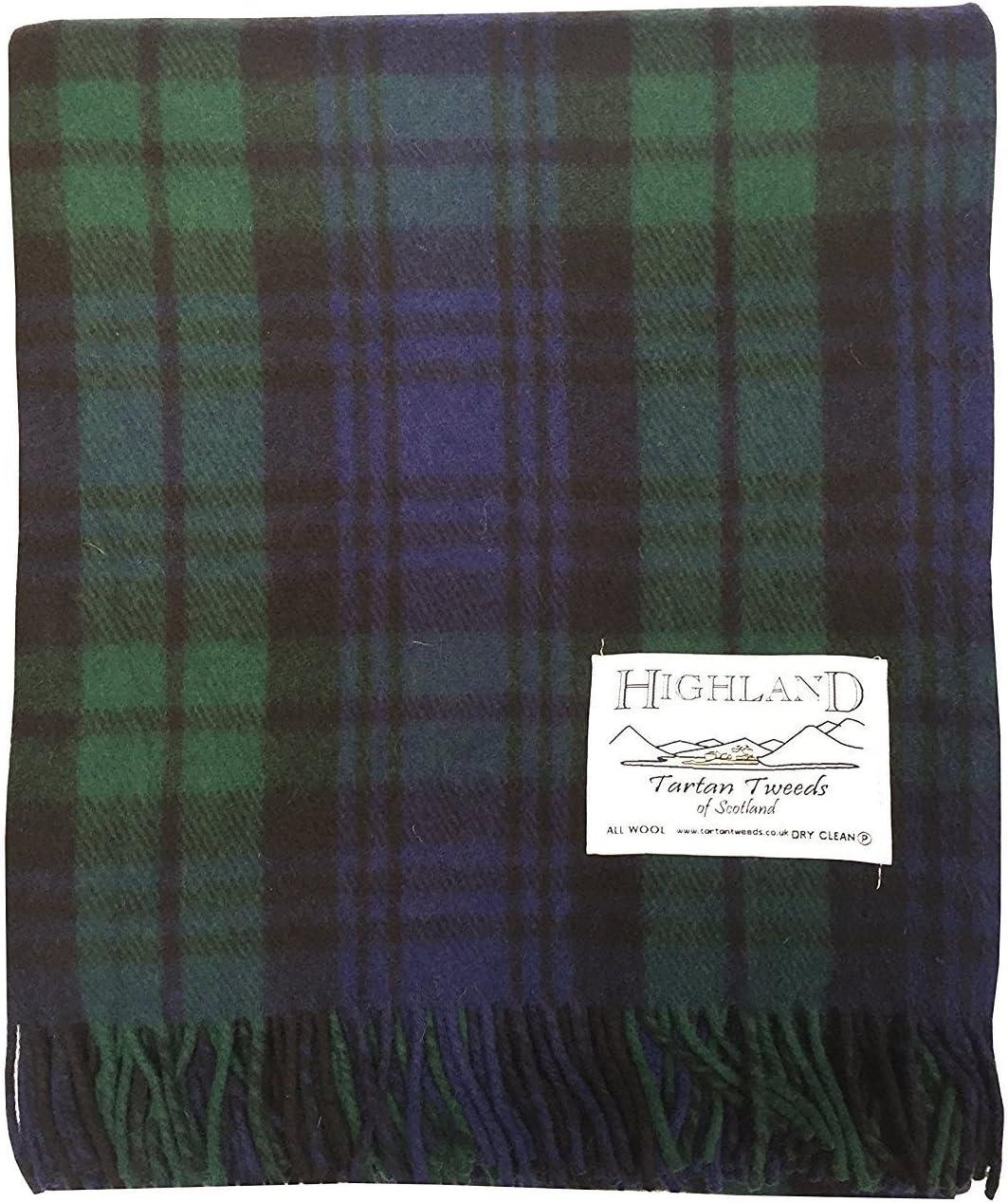 Highland Tappeto//coperta extra calda in tweed scozzese misto lana
