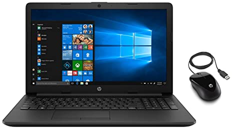 Buy HP 15 db1069AU 15.6-inch Laptop (3rd Gen Ryzen 3 3200U/4GB/1TB  HDD/Windows 10/MS Office/Radeon Vega 3 Graphics), Jet Black with X1000  Wired Mouse (Black/Grey) Online at Low Prices in India - Amazon.in