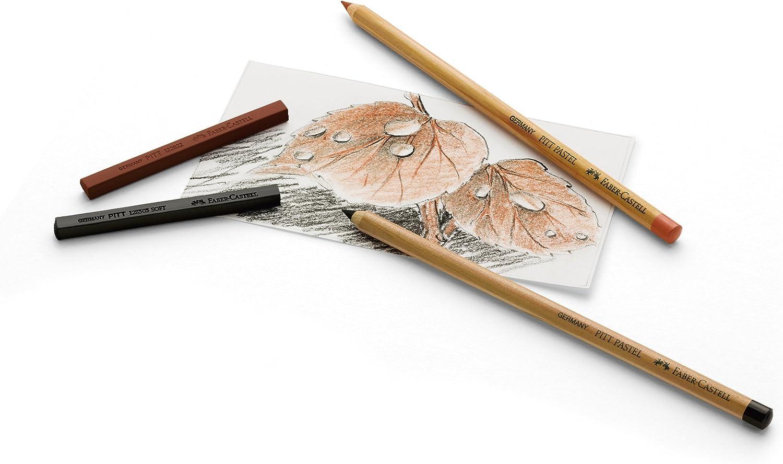 Faber Castell Pitt Pastel Pencil Metal Tin Set of 12