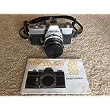 Minolta SRT 201 SLR 35mm Camera w/ Minolta MD Rokkor-x 45mm 1:2 lens
