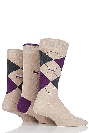 5349a8f8811 Pringle New Waverley Argyle Patterned   Plain Socks - 7-11 Mens - Beige   Amazon.co.uk  Clothing