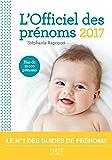 L'Officiel des prénoms 2017