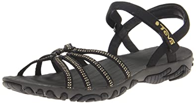 e8303d2348cff4 Teva Womens Ladies 1002346 Kayenta Stud Walking Sandal Flip Flop Black 5