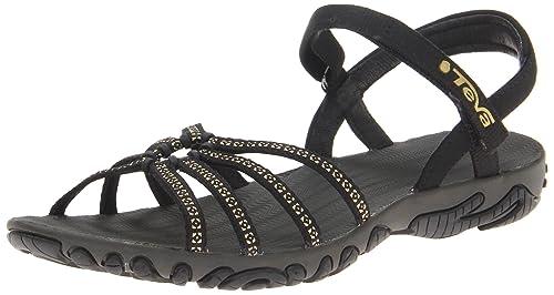 44c4fdce12735 Teva - Kayenta Studded - Women Black 10 B(M) US: Amazon.in: Shoes ...