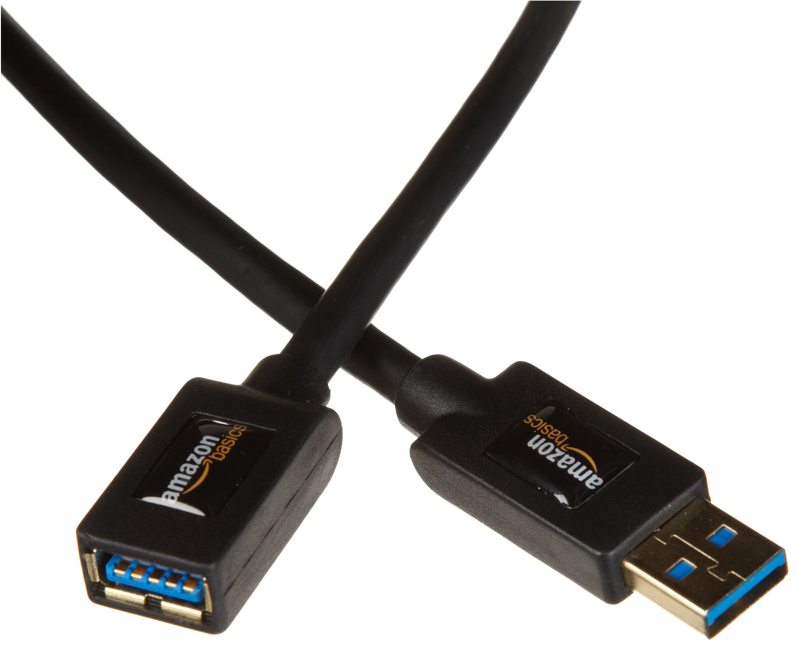 AmazonBasics USB 3.0 Extension Cable - A-Male to A-Female - 6.5 Feet (2 meters), 10-Pack by AmazonBasics