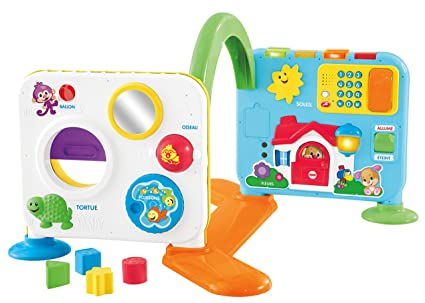 114cdaab8 Fisher-Price Laugh   Learn Crawl-Around Learning Center - French Edition   Amazon.ca  Toys   Games