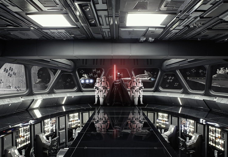 Raumschiff Star Wars Wand Dekoration Fototapete DESTROYER DECK Tapete Komar 8-445 368 x 254 cm Darth Vader