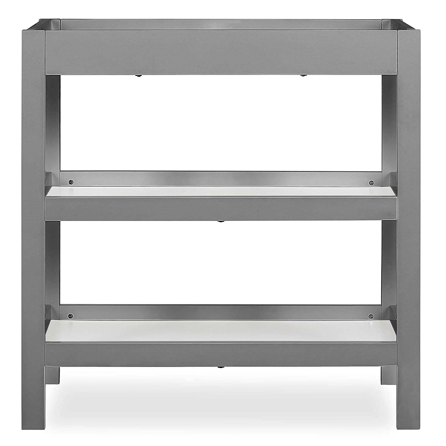 Dream On Me Ridgefield Changing Table in Storm Grey