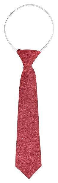 BomGuard - Corbata para niños, color salmón mate: Amazon.es: Ropa ...