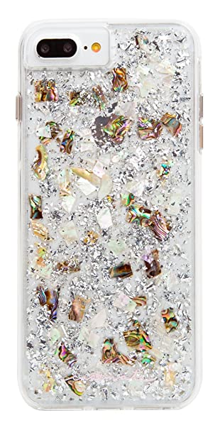 new products 3912c 694b1 Case-Mate - iPhone 7 Plus Case - KARAT - Real Mother of Pearl - for iPhone  8 Plus / 7 Plus / 6s Plus / 6 Plus - Mother of Pearl