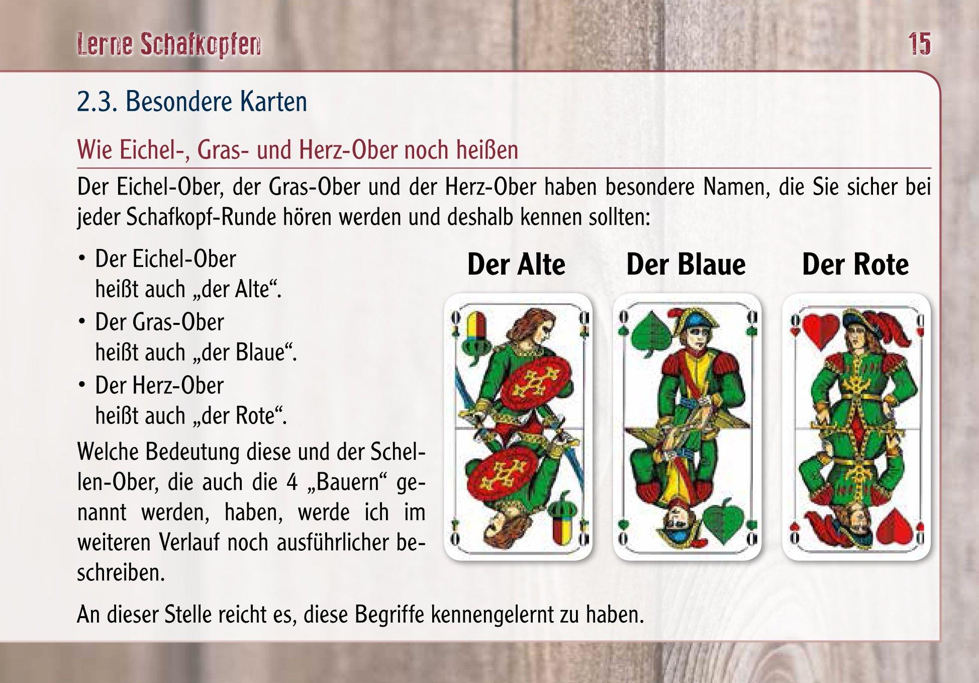 Besondere Len lerne schafkopfen 9783955870096 amazon com books