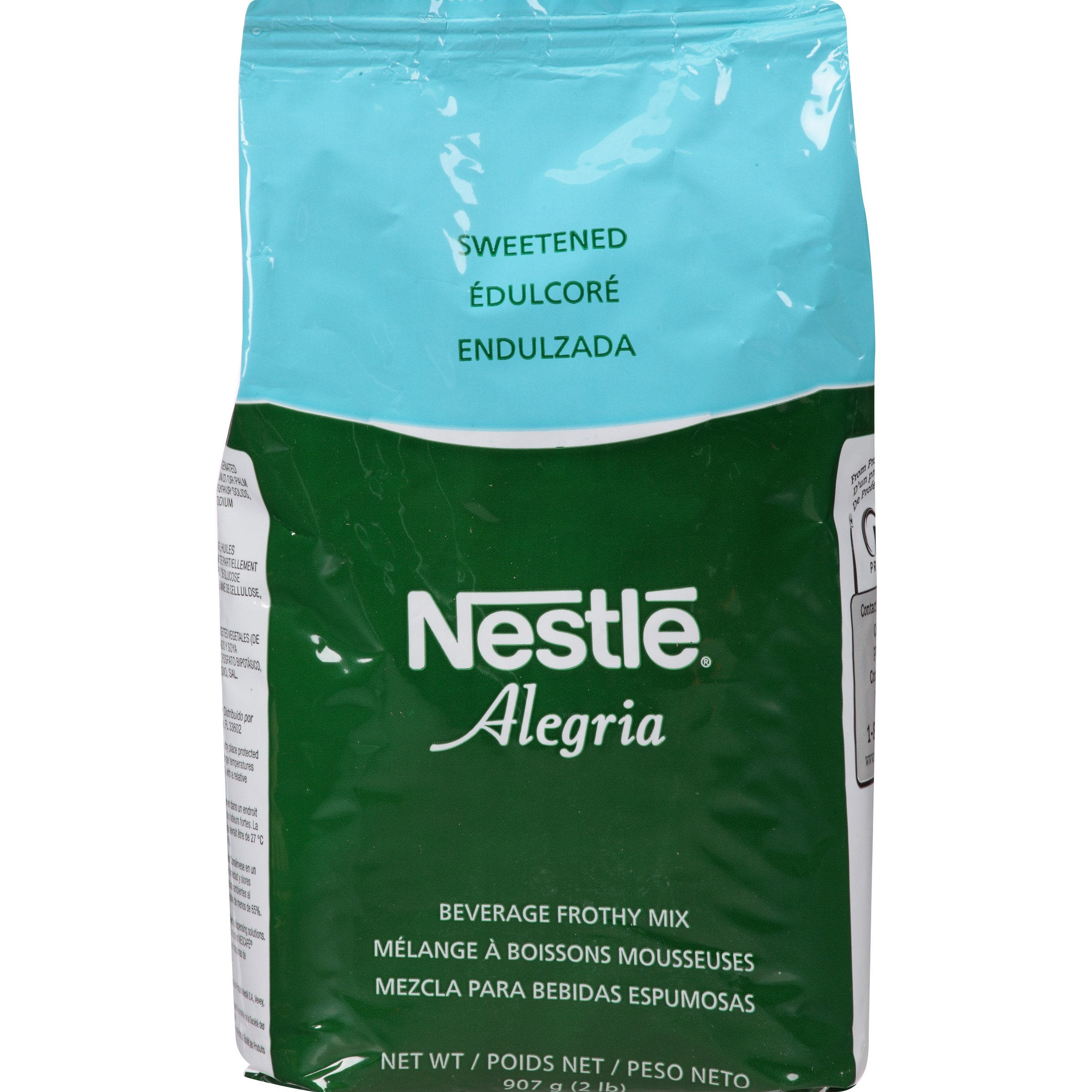 Nestle Alegria, Sweetened Beverage Frothy Mix, 32-Ounce Package