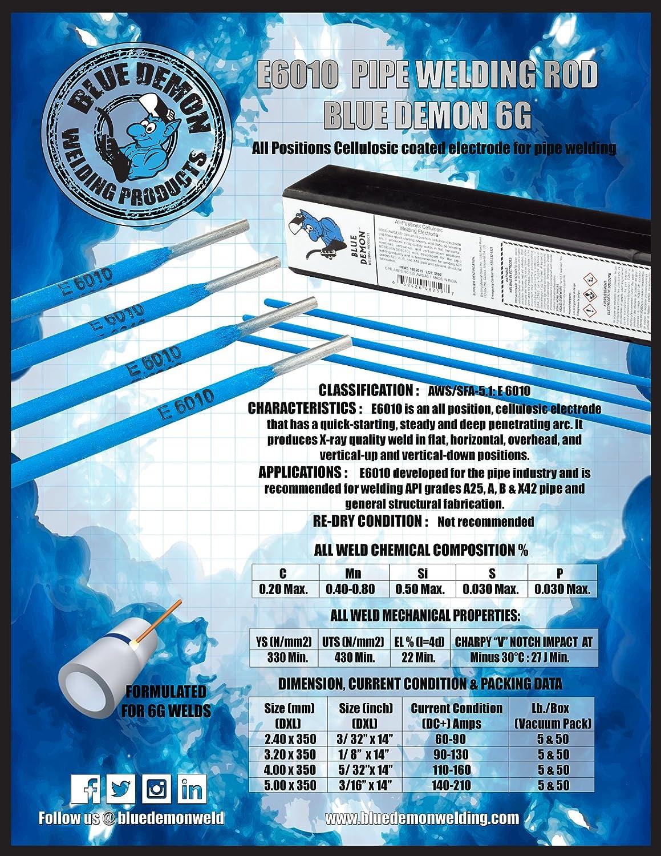 Blue Demon 6010 X 5/32