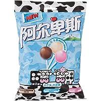 阿尔卑斯精选特浓8.8牛奶硬糖棒棒糖混合味20支装120g