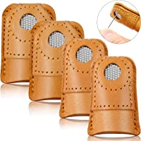 Sewing Thimble,Iusun Copper Finger Protector Adjustable Fingertip Thimble for Sewing Tools Embroidery Craft Accessories DIY Needlework