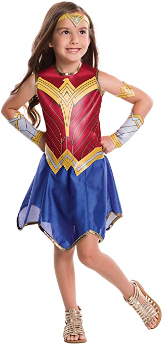 Wonder Woman Movie Child's Value Costume, Large