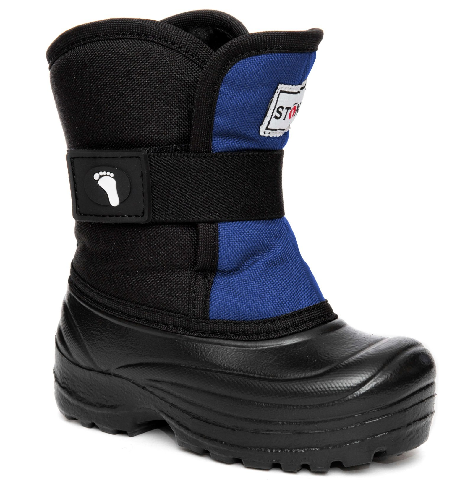 Stonz Scout Winter Boots for Cold Weather, Snow, Ice and Winter Sports - Insulated, Super Light & Warm - Slate Blue/Black, 5T
