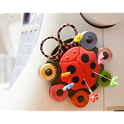 BOBBIN HOLDER / LadyBug SEWING CADDY, 'ESSENTIALS Caddy