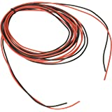BNTECHGO 20 Gauge Silicone Wire 20 Feet [10 ft Black And 10 ft Red] High Temperature Resistant Soft And Flexible 20 AWG Silicone Wire 100 Strands of Copper Wire